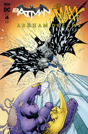 BATMAN THE MAXX (2018) #4