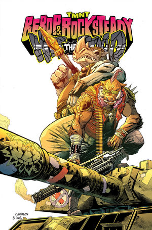 TMNT BEBOP AND ROCKSTEADY HIT THE ROAD TP #1