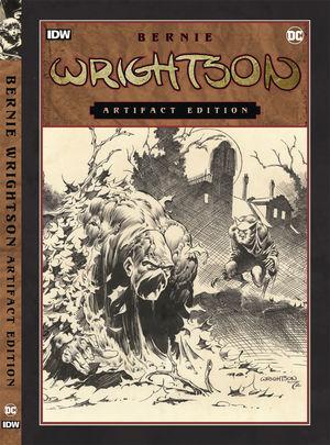 BERNIE WRIGHTSON ARTIFACT ED HC NEW PTG #1