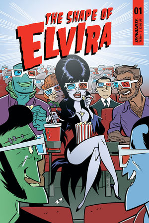 ELVIRA SHAPE OF ELVIRA (2018) #1B