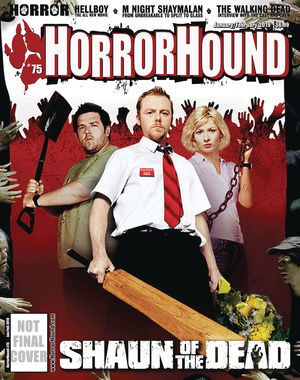 HORRORHOUND MAGAZINE (2006) #75