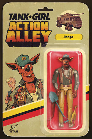 TANK GIRL ACTION ALLEY (2018) #2B