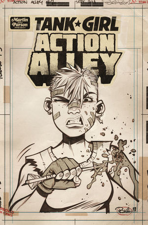 TANK GIRL ACTION ALLEY (2018) #2C