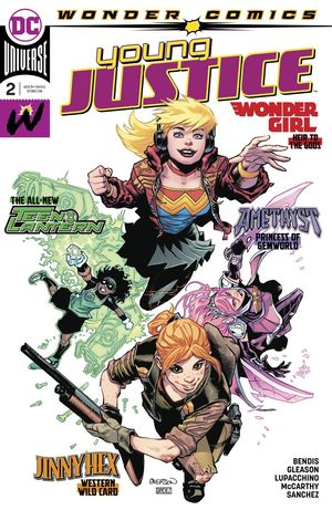 YOUNG JUSTICE (2019) #2