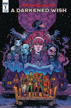 DUNGEONS AND DRAGONS A DARKENED WISH (2019) #1