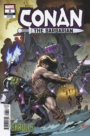 CONAN THE BARBARIAN (2019) #3 SKRULL