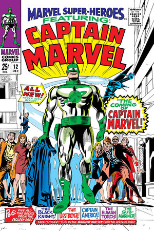 TRUE BELIEVERS CAPTAIN MAR-VELL (2019) #1