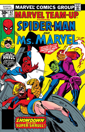 TRUE BELIEVERS CAPTAIN MARVEL SPIDER-MAN AND MS MA #1