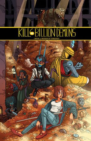 KILL 6 BILLION DEMONS TPB (2016) #3