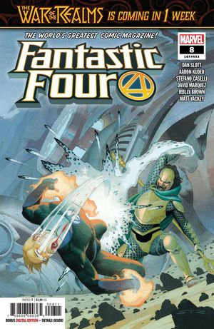 FANTASTIC FOUR (2018 6TH SERIES) #8