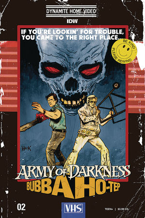 ARMY OF DARKNESS BUBBA HOTEP (2019) #2C