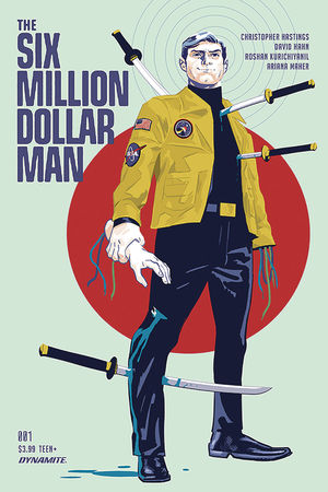 SIX MILLION DOLLAR MAN (2019) #1