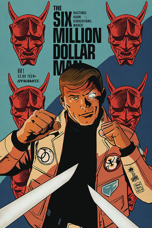 SIX MILLION DOLLAR MAN (2019) #1C