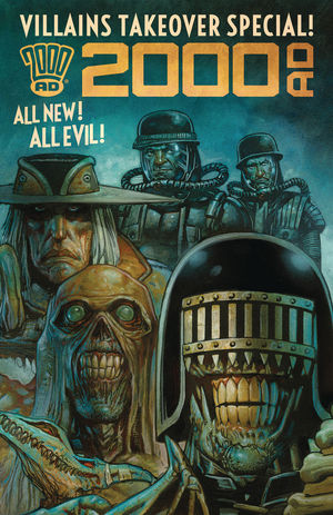 2000 AD VILLAINS TAKEOVER SPECIAL ONESHOT (2019)