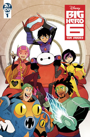BIG HERO 6 THE SERIES (2019) #1