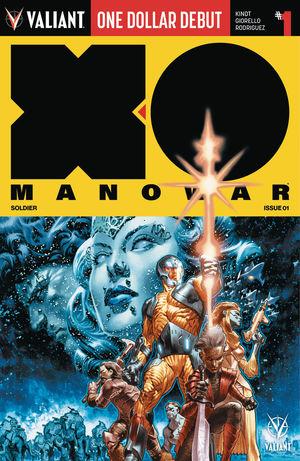 X-O MANOWAR DOLLAR DEBUT (2019)