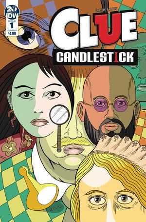CLUE CANDLESTICK 1