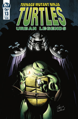 TEENAGE MUTANT NINJA TURTLES URBAN LEGENDS (2018) #13