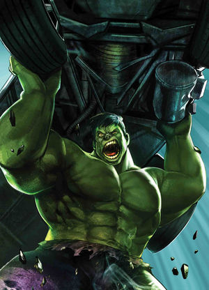IMMORTAL HULK HEYJIN IM MARVEL BATTLE LINES VAR 17
