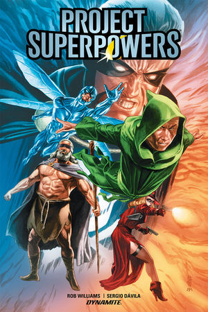 PROJECT SUPERPOWERS HC VOL 01 EVOLUTION