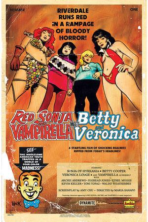 RED SONJA VAMPIRELLA BETTY VERONICA (2019) #1C