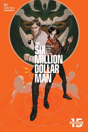 SIX MILLION DOLLAR MAN CVR C MAGANA 3
