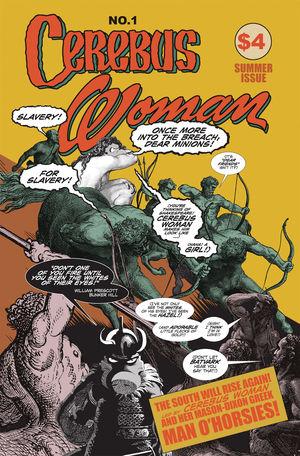 CEREBUS WOMAN (2019) #1