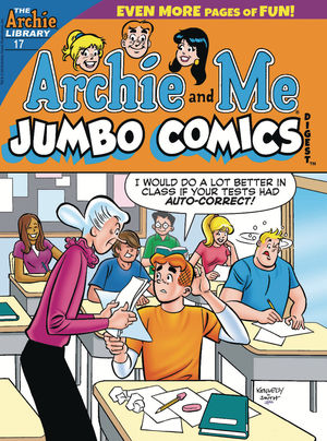 ARCHIE AND ME JUMBO COMICS DIGEST 17