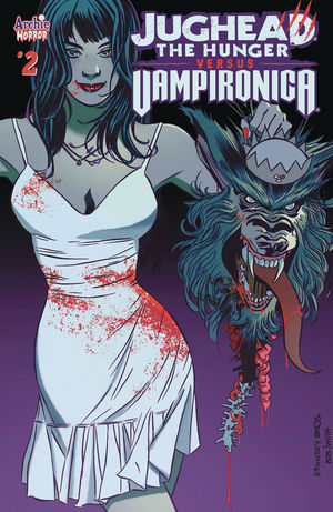JUGHEAD HUNGER VS VAMPIRONICA CVR A PAT AND TIM KENNEDY 2