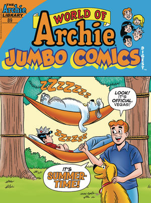 WORLD OF ARCHIE JUMBO COMICS DIGEST 89