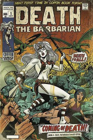 LADY DEATH SWORN DEATH THE BARBARIAN DAMAGED ED 1