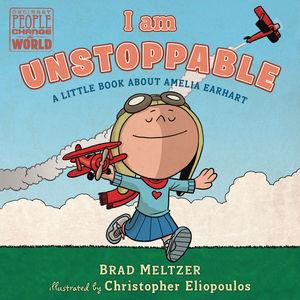 I AM UNSTOPPABLE AMELIA EARHART BOARD BOOK