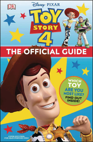 DISNEY PIXAR TOY STORY 4 OFFICIAL GUIDE HC