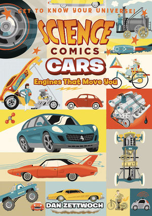 SCIENCE COMICS CARS ENGINES THAT MOVE YOU HC GN