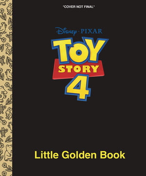 DISNEY PIXAR TOY STORY 4 LIITLE GOLDEN BOOK