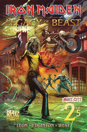 IRON MAIDEN LEGACY OF THE BEAST VOL 2 NIGHT CITY CVR A 2