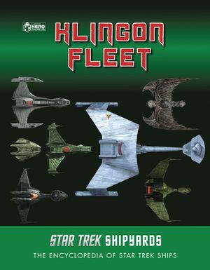 STAR TREK ENCY SHIPYARDS KLINGON FLEET 4