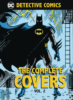 DC COMICS DETECTIVE COMICS COMP COVERS MINI HC #2