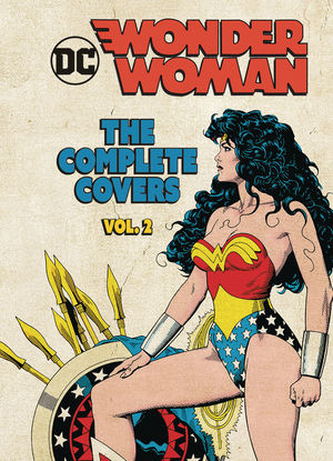 DC COMICS WONDER WOMAN COMP COVERS MINI HC #2