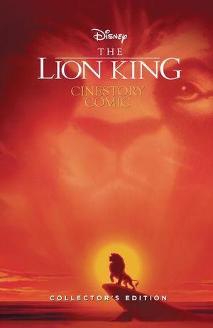 DISNEY LION KING 25TH ANNIV CINESTORY HC COLL ED