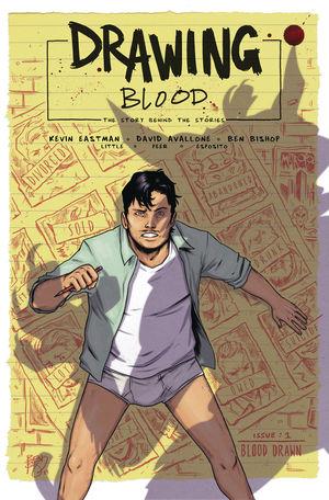 DRAWING BLOOD SPLILLED INK CVR A BISHOP 1