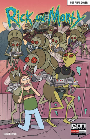 RICK AND MORTY 50 ISSUES SPECIAL VAR 1