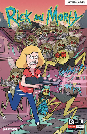 RICK AND MORTY 50 ISSUES SPECIAL VAR 2