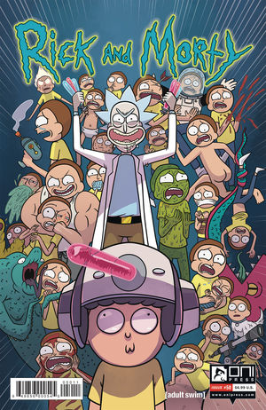 RICK AND MORTY CVR A 50