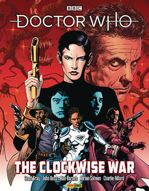 DOCTOR WHO TP CLOCKWISE WAR