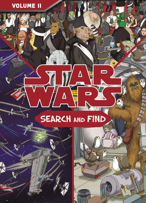 STAR WARS SEARCH AND FIND HC