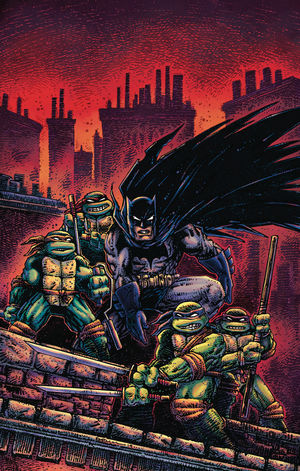 BATMAN TEENAGE MUTANT NINJA TURTLES III (2019) #2B