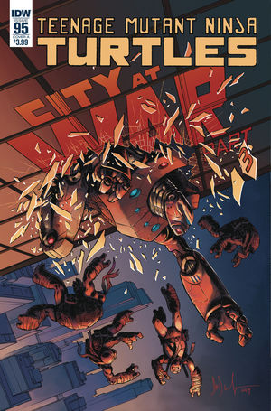 TEENAGE MUTANT NINJA TURTLES (2011 IDW) #95