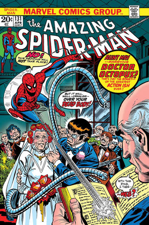 TRUE BELIEVERS SPIDER-MAN WEDDING AUNT MAY AND DOC #1
