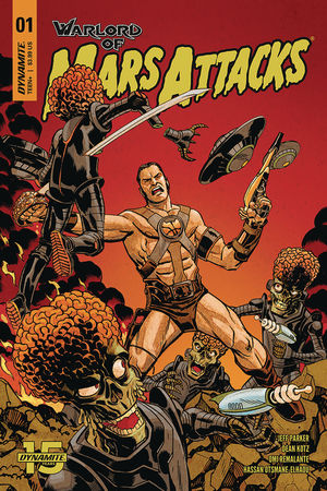 WARLORD OF MARS ATTACKS (2019) #1